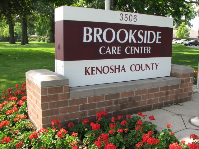 Brookside Care Center Sign